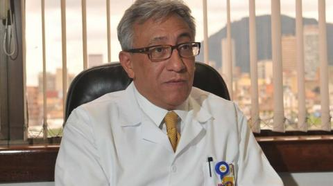 Carlos Valdés, director de Medicina Legal.