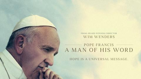 "Imagen del documental ""Pope Francis. A Man of His Word"" ."