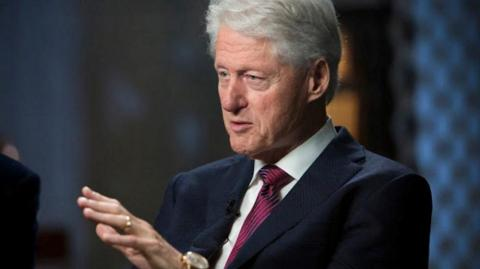 El expresidente de Estados Unidos, Bill Clinton.