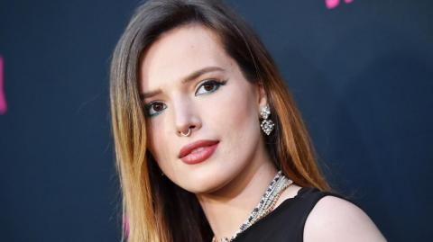 Bella Thorne, antigua estrella de Disney.