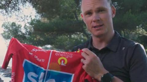 Chris Froome, ciclista.