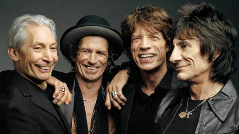 The Rolling Stones, banda británica.