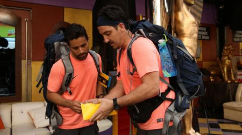 Participantes de 'The Amazing Race'.