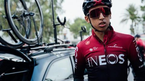 Egan Bernal, campeón del Tour de France 2019.